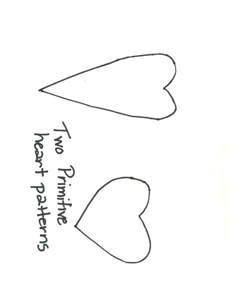 pattern for primitive heart 173 best images about templates on pinterest christmas