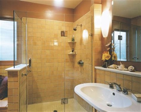 warm colours for bathroom bathroom design idea creating warmth with color