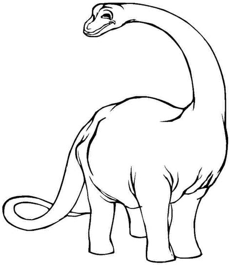 Brontosaurus Dinosaur Coloring Pages Coloring Pages Brontosaurus Coloring Page