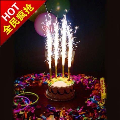Lilin Happy Birthday Glitter firework birthday cake sparklers can end 2 16 2020 1 24 pm