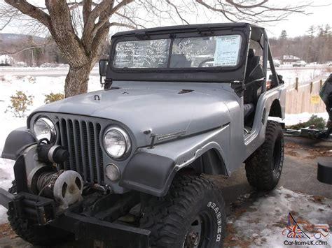 Jeep Cj Mods 1965 Jeep Kaiser Tuxedo Park Iv Cj 5 Restored