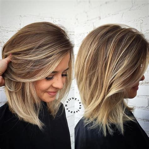 hairstyles and colours for shoulder length hair 90 sensational medium length haircuts for thick hair