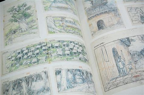 ghibli layout book studio ghibli layout designs exhibition part ii halcyon