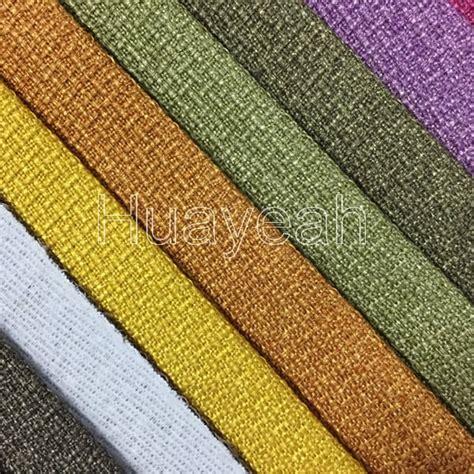 New Upholstery Fabrics Linen Plain Upholstery Fabric From Keqiao Market