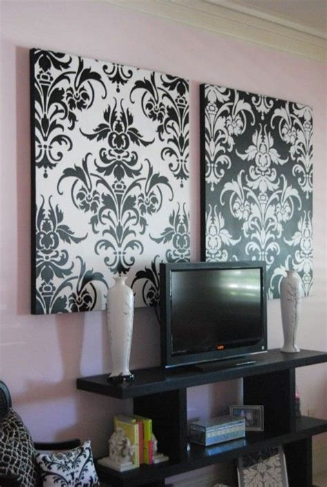 40 living room decorating ideas damask wallpaper damasks and wall art design ideas black white damask wall art