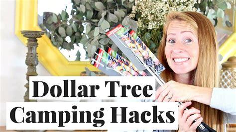 tree hacks cing hacks dollar tree haul youtube