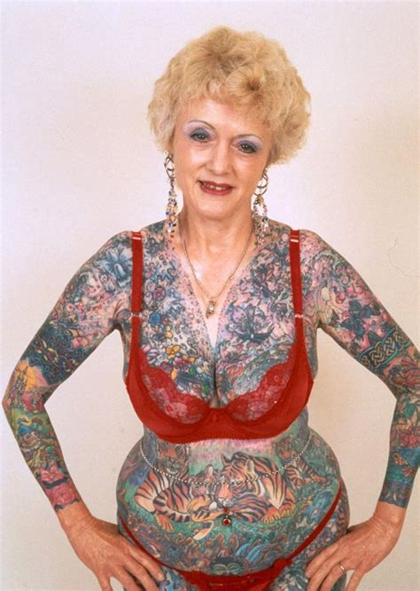 isobel varley world s most tattooed female pensioner dies