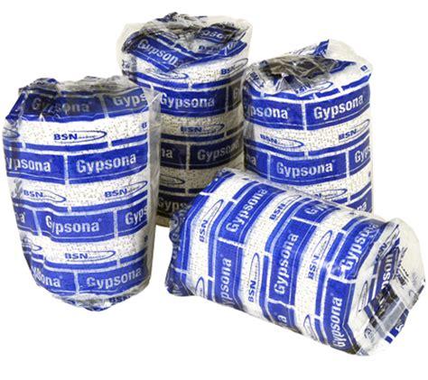Gypsona Plaster Bandages 8 Wide buy gypsona 174 plaster bandages grade gypsum bandages from advanced materials