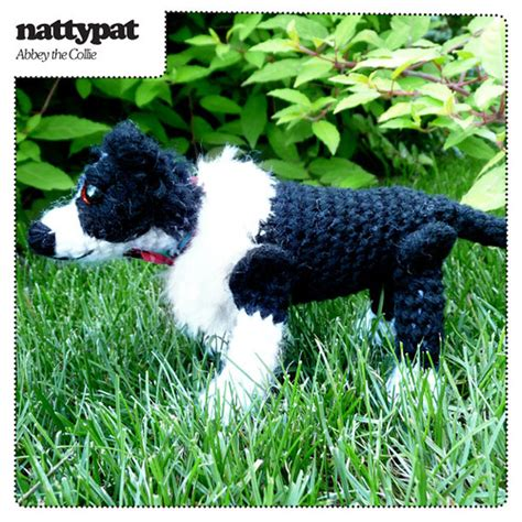 pattern white border collie abbey the border collie crochet pattern clever and agile
