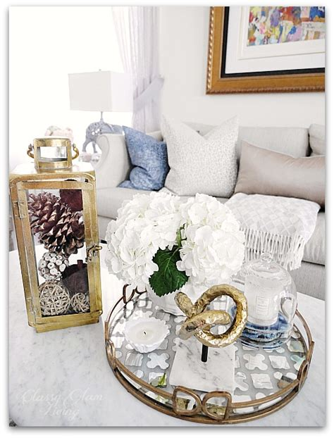 fall decor around the house glam living