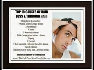 what causes hair loss in 50 top 10 causes of hair loss main cause of hair loss all