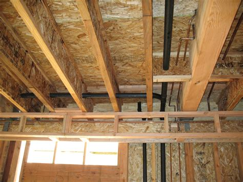 loading on ceiling joists conventional framed roof pier and beam foundations how to structurally support load