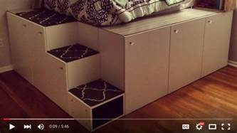 Ikea Bed Frame Hack Ikea Sektion Hack Platform Bed Diy Hackers With Raised Frame Interalle