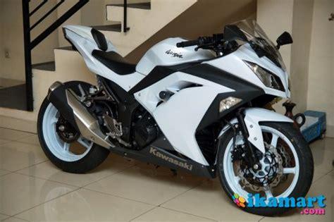 Dijual 250fi jual 250fi 2013 putih kawasaki motor