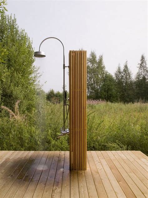 outdoor shower 15 awesome outdoor showers and bathrooms home design and