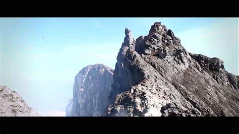 puncak gunung merapi youtube