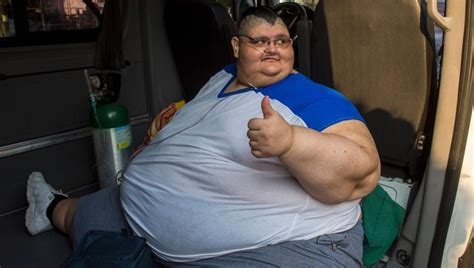 fattest person in the world after eman world s heaviest man at 595kg undergoes