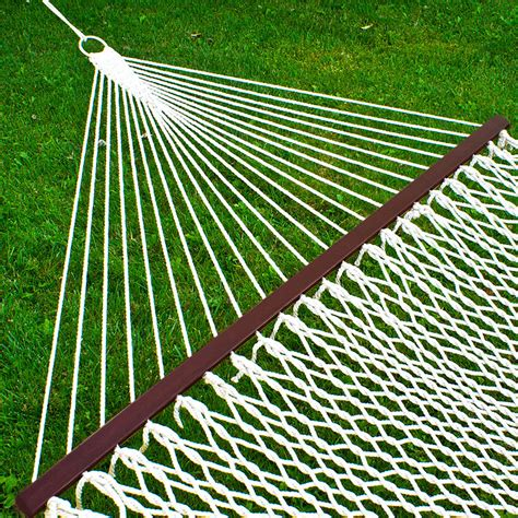 I Want To Buy A Hammock Hammock 59 Quot Cotton Wide Solid Wood Spreader Outdoor