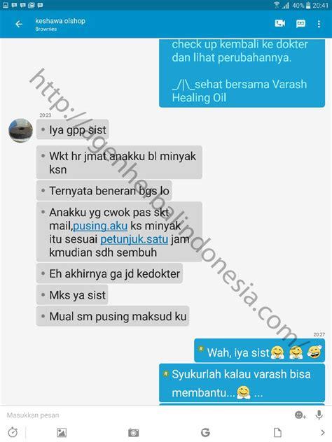 Varash Healing Original 100ml testimoni minyak varash mual dan pusing agen herbal indonesia