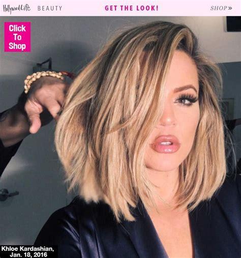 khloé kardashian debuts short lob 1000 ideas about khloe kardashian haircut on pinterest