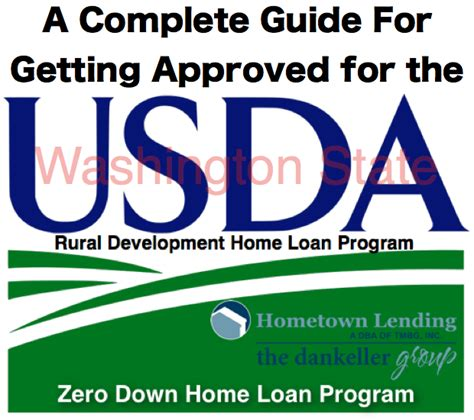 how to qualifying for a usda home loan in washington state