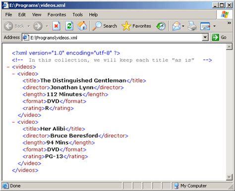 xml tutorial cdata net xml and f characteristics of an xml document