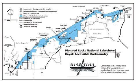 kayak map pictured rocks maps npmaps just free maps period
