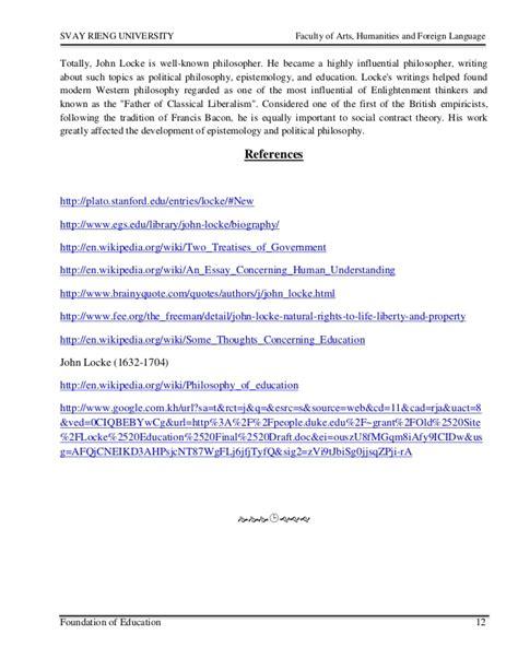 john locke biography in spanish john locke resume resume ideas