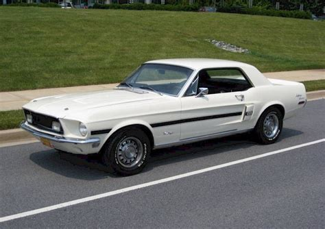 white 1968 mustang wimbledon white 1968 ford mustang gt california special