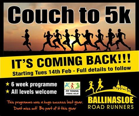 couch to 5k success latest ballinasloe news ballinasloe town website