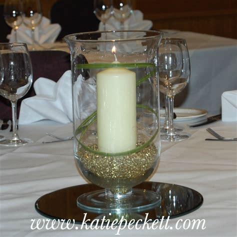 Glass Hurricane Vase Wedding Table Centerpiece With Church Hurricane Vase Centerpiece Ideas