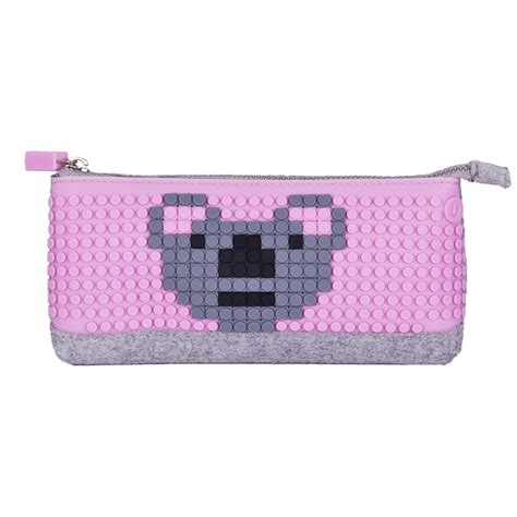 Mikado Tenta Pixel Foldable Shopping Bag Pink upixel pencil pink wallets brands