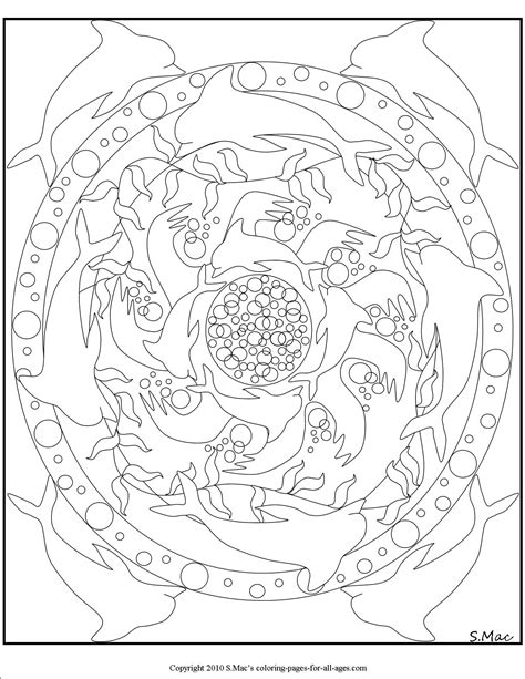 Mandala Coloring Pages – S.Mac's Place to Be