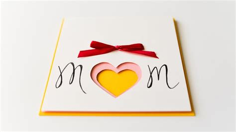 how to make 3d mothers day cards how to make s day card 3d step by step