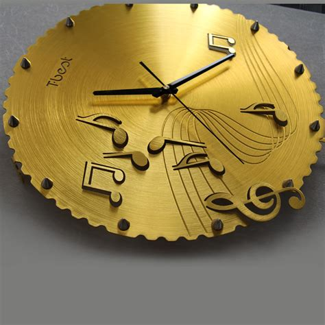 orologi da parete per soggiorno musica funky note orologi orologio da parete decorazione