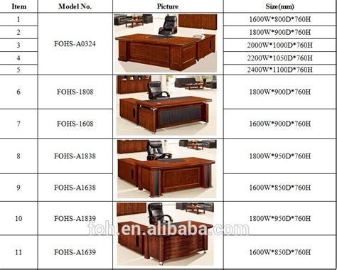 office desk sizes office desk office table office furniture foha 3a241