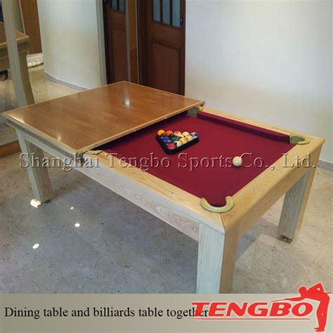 2015 factory direct selling dining pool table table for