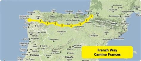 camino way map what is the camino franc 233 s caminoways