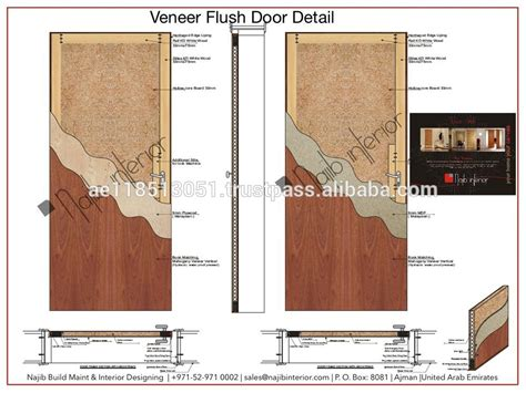 flush door section interior veneer designed door ni 213 buy flush door