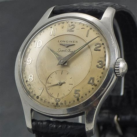 longines sport chief manual 1959 wristchronology