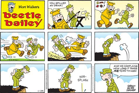 Beetle Bailey Comics Picture And Images
