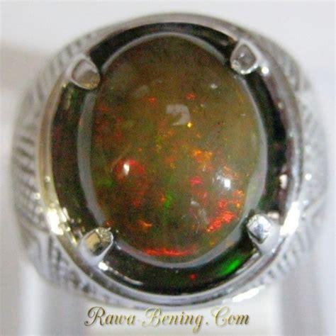 Cincin Cincin Berlian Imitasi Silver 3 Batu 1 5 Karat Lapis Emas P promo cincin pria black opal 3 60 carat silver 925 ukuran