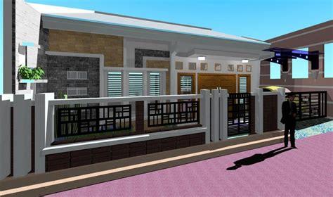 desain gambar pagar memilih design pagar rumah minimalis sederhana tapi