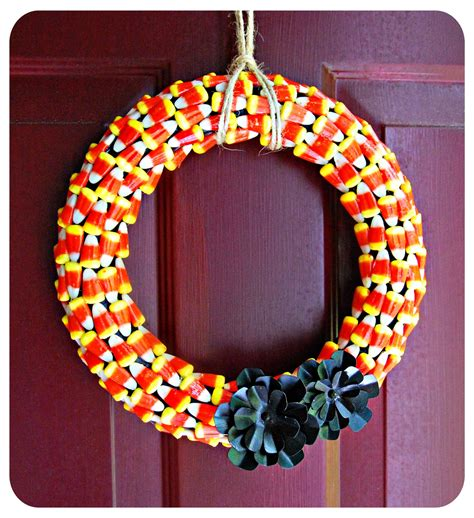 wreaths diy blushing bee by me halloween wreath diy craft