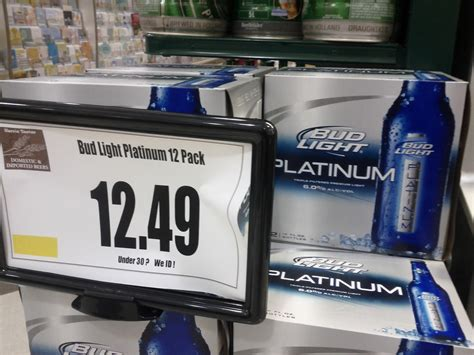 Bud Light Prices by Bud Light Platinum Review Bomble