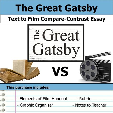 themes of the great gatsby film the great gatsby unit plan