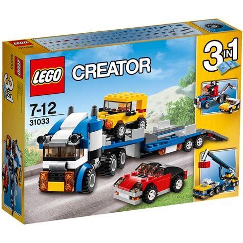 lego creator vehicle transporter 31033 163 18 00 hamleys