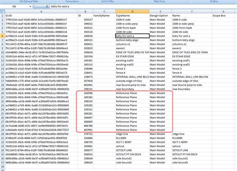names list what revit wants get a list of the names of all reference planes in a revit model
