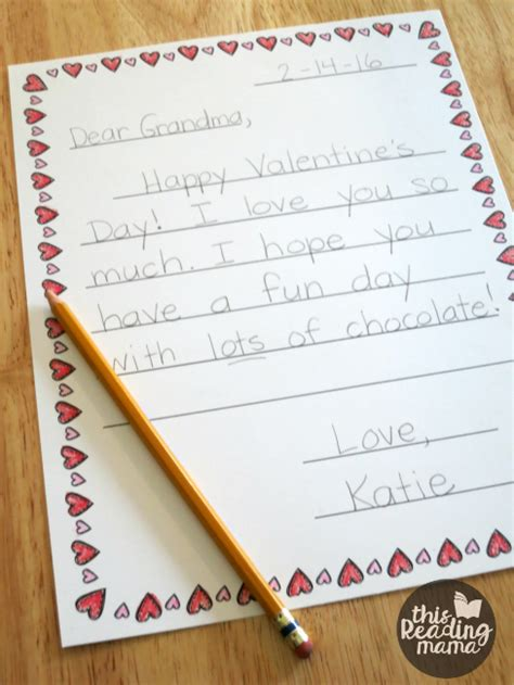 valentines letter for free letter templates for this reading