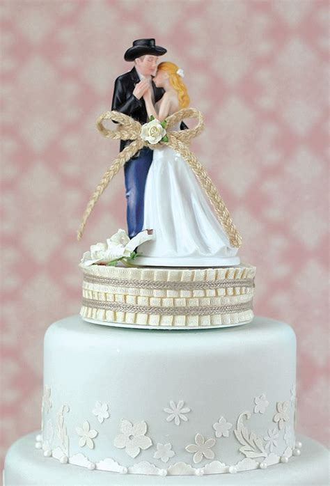 Top 10 Western and Country Cake Toppers Wedding